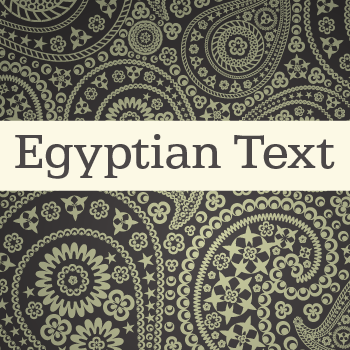 Egyptian+Text+Pro