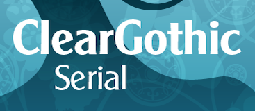 ClearGothic Serial-Regular